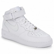 ψηλά sneakers nike air force 1 mid 07 leather