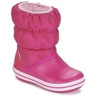 μπότες για σκι crocs winter puff boot kids