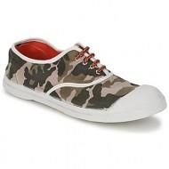 xαμηλά sneakers bensimon tennis camofluo