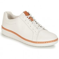 smart shoes clarks amberlee rosa white