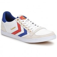 xαμηλά sneakers hummel ten star low canvas