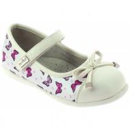 Παπούτσι παιδικές μπαλαρίνες λουστρίνι με μπαρέτα και φιόγκο ροζ ... 25f9d572af5