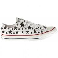 converse - unisex παπούτσια chuck taylor λευκά