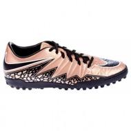 nike - ανδρικά παπούτσια nike hypervenom phelon ii tf χρυσή απόχρωση