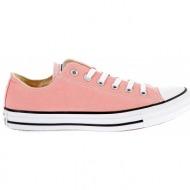 converse - unisex παπούτσια chuck taylor all star ox ροζ