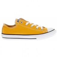 converse - παιδικά παπούτσια chuck taylor all star ox πορτοκαλί