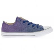 converse - παιδικά παπούτσια chuck taylor all star ox μπλε