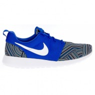nike - ανδρικά παπούτσια nike roshe one print μπλε