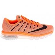 nike - γυναικεία αθλητικά παπούτσια nike air max 2016 πορτοκαλί