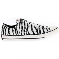 converse - unisex παπούτσια chuck taylor all star ox λευκά-μαύρα