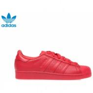 adidas - unisex παπούτσια adidas superstar adicolor κόκκινα