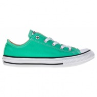 converse - παιδικά παπούτσια chuck taylor all star ox πράσινα