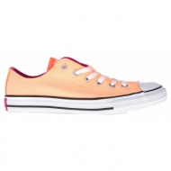 converse - παιδικά παπούτσια chuck taylor all star double t πορτοκαλί