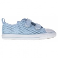 converse - βρεφικά παπούτσια chuck taylor all star 2v ox μπλε