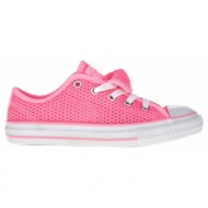 converse - παιδικά παπούτσια chuck taylor all star double t ροζ