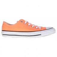 converse - unisex παπούτσια chuck taylor all star ox πορτοκαλί