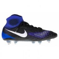 nike - ανδρικά παπούτσια magista obra ii sg-pro μπλε-μαύρο
