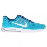 nike - γυναικεία αθλητικά παπούτσια nike lunarglide 8 μπλε
