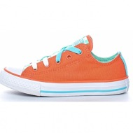 converse - παιδικά sneakers chuck taylor all star loophole πορτοκαλί