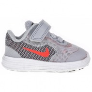 3f2e2f56454 nike - βρεφικά παπούτσια nike revolution 3 (tdv) γκρι