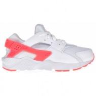 33229bcef63 nike - παιδικά αθλητικά παπούτσια nike huarache run (ps) λευκά - ροζ