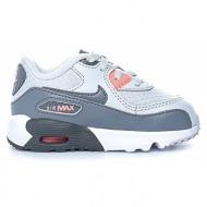 b1e1a6a6c0c nike - βρεφικά αθλητικά παπούτσια nike air max 90 mesh (ps) λευκά-γκρι