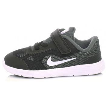 nike - παιδικά αθλητικά παπούτσια nike revolution 3 (tdv) μαύρα-γκρι σε  προσφορά 0f3366c5dfd