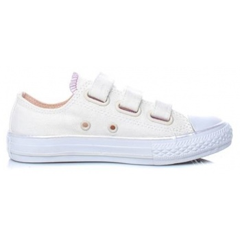 0b192ceaadc converse - παιδικά sneakers converse chuck taylor all star 3v ox εκρού σε  προσφορά
