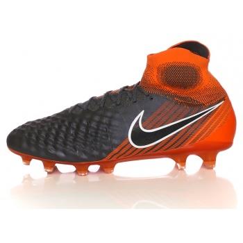 nike - ανδρικά παπούτσια ποδοσφαίρου obra 2 elite df fg ανθρακί-πορτοκαλί  σε προσφορά a85b23ca196