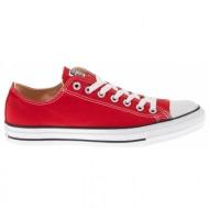 converse - unisex παπούτσια chuck taylor κόκκινα