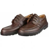 boxer shoes 01532 καφέ
