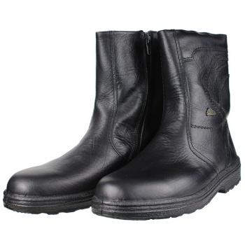 ανδρικές μπότες με γούνα boxer shoes 01535