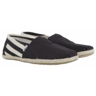 εσπαντρίγες toms classic black stripe university 10005414