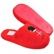 tshoes παιδικη κοκκινη παντοφλα 051-9