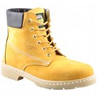 box hellas shoes ανδρικο δερματινο κιτρινο 190-2