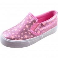 il mondo παιδικό πάνινο ροζ παπούτσι tx670-2