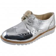 il mondo γυναικείο μοντέρνο ασημί παπούτσι 16810-2