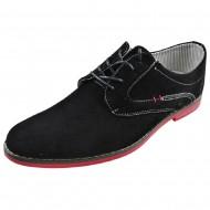 atlanta ανδρικό casual παπούτσι μαύρο 6881-3