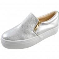 il mondo γυναικείο μοντέρνο ασημί παπούτσι rl-917-2