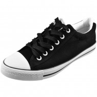 il mondo μαύρο πάνινο μοντέρνο παπούτσι bx5-1