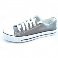 il mondo εφηβικό πάνινο γκρί παπούτσι 815-6