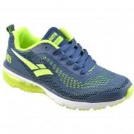 atlanta αθλητικο μπλε-πρασινο παπουτσι 15kma36-1