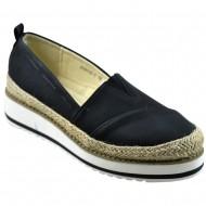 lets walk γυναικείο μαύρο μοντέρνο παπούτσι as8002-3