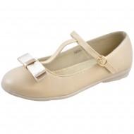 jl shoes μπεζ παιδικη μπαλαρινα bm249-4