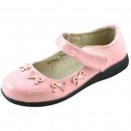 jl shoes ροζ παιδικη μπαλαρινα a2012a-a