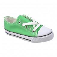 παιδικο πανινο πρασινο παπουτσι il mondo kids
