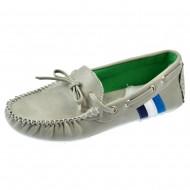 giardino doro shoes μοκασινι grigio c1337-1