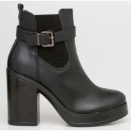 pam chelsea boot, μαύρο - 20009/1