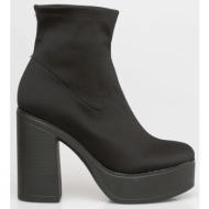 gilda lycra boot, μαύρο - 20018/1
