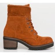 dara ankle wool boot, καμηλό - 41104/3